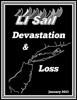 August 2012 Cover of LI Sail